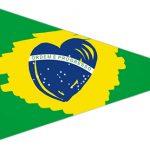 Bandeirinha Sanduiche 4 Copa do Mundo