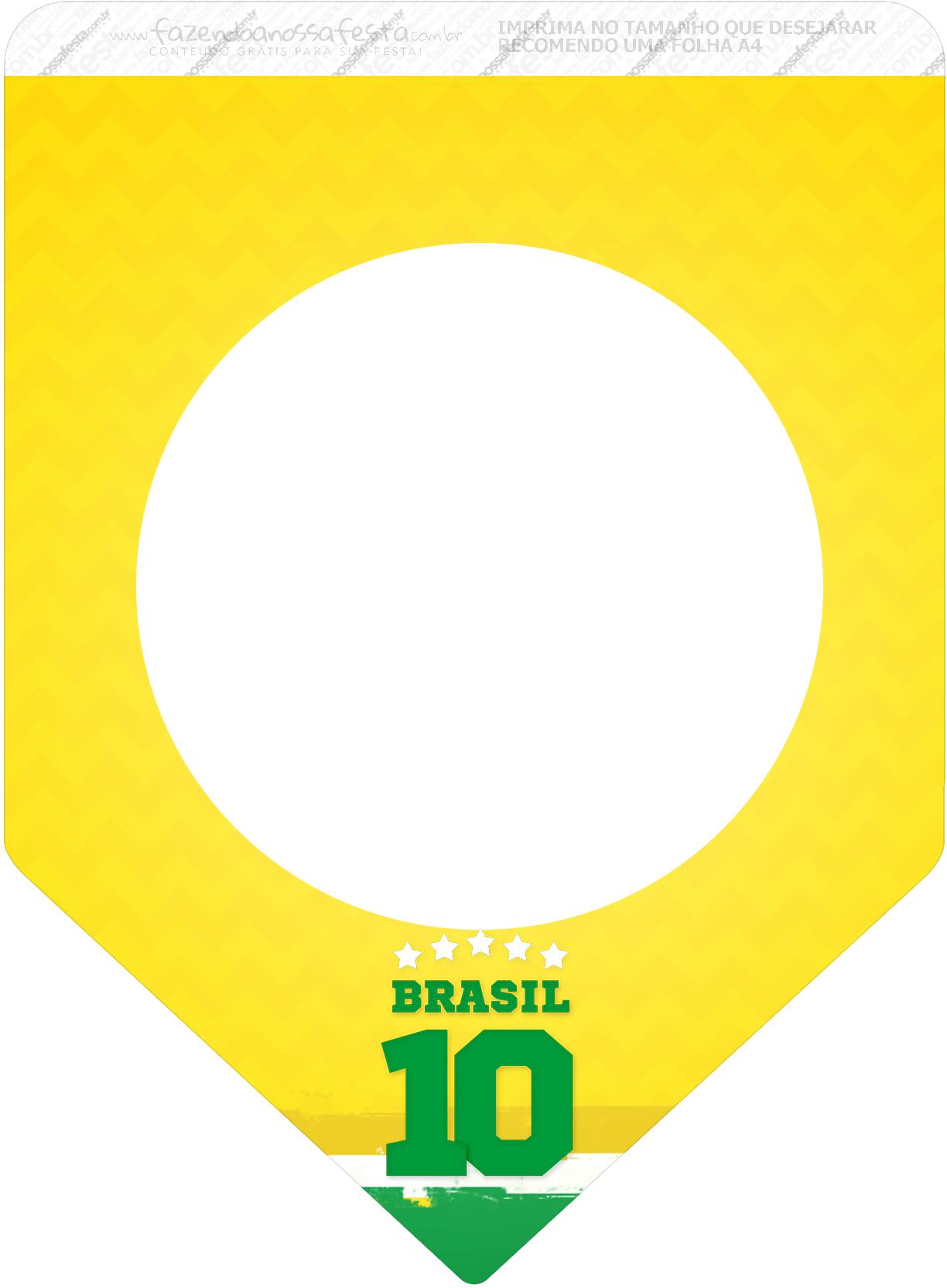 Bandeirinha Varalzinho 3 Copa do Mundo