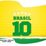 Bandeirinha Varalzinho Copa do Mundo