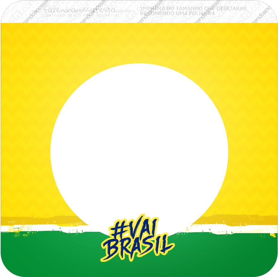 Bandeirinha Varalzinho Quadrada Copa do Mundo