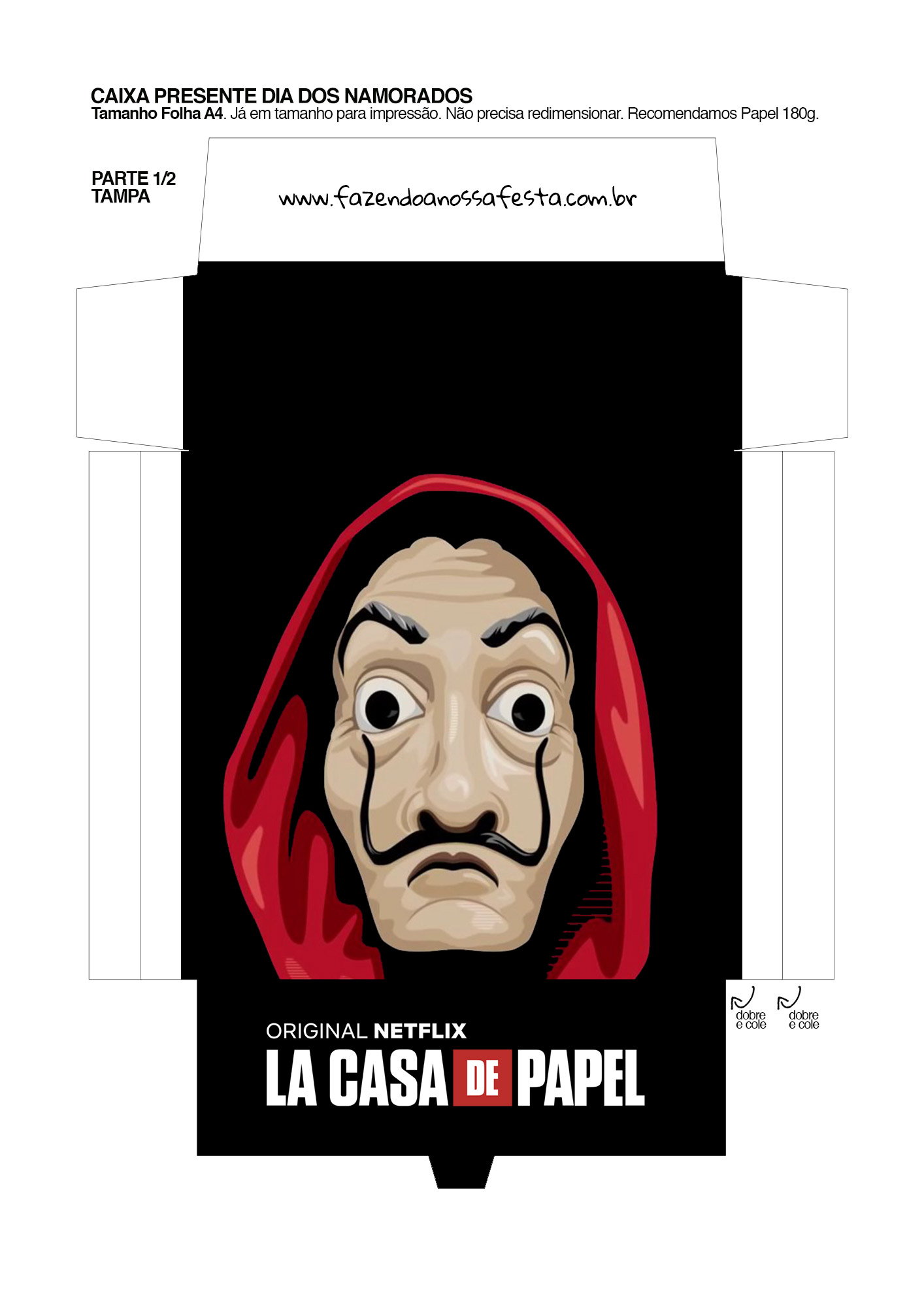 Caixa Brigadeiro La Casa de Papel la casa de papel 1_01