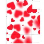 Caixa Dia dos Namorados com Letras de Musicas e Temas dia dos namorados
