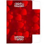 Caixa Dia dos Namorados com Letras de Musicas e Temas e na hora que te beijei