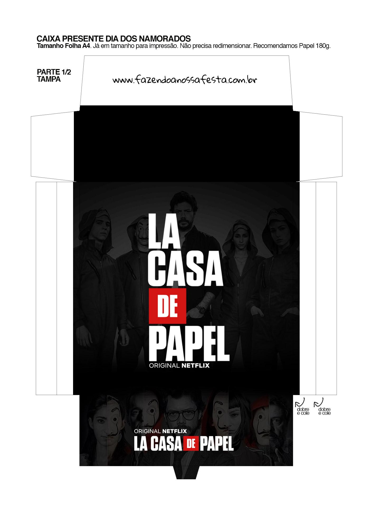 Caixa Festa La Casa de Papel la casa de papel 5_01