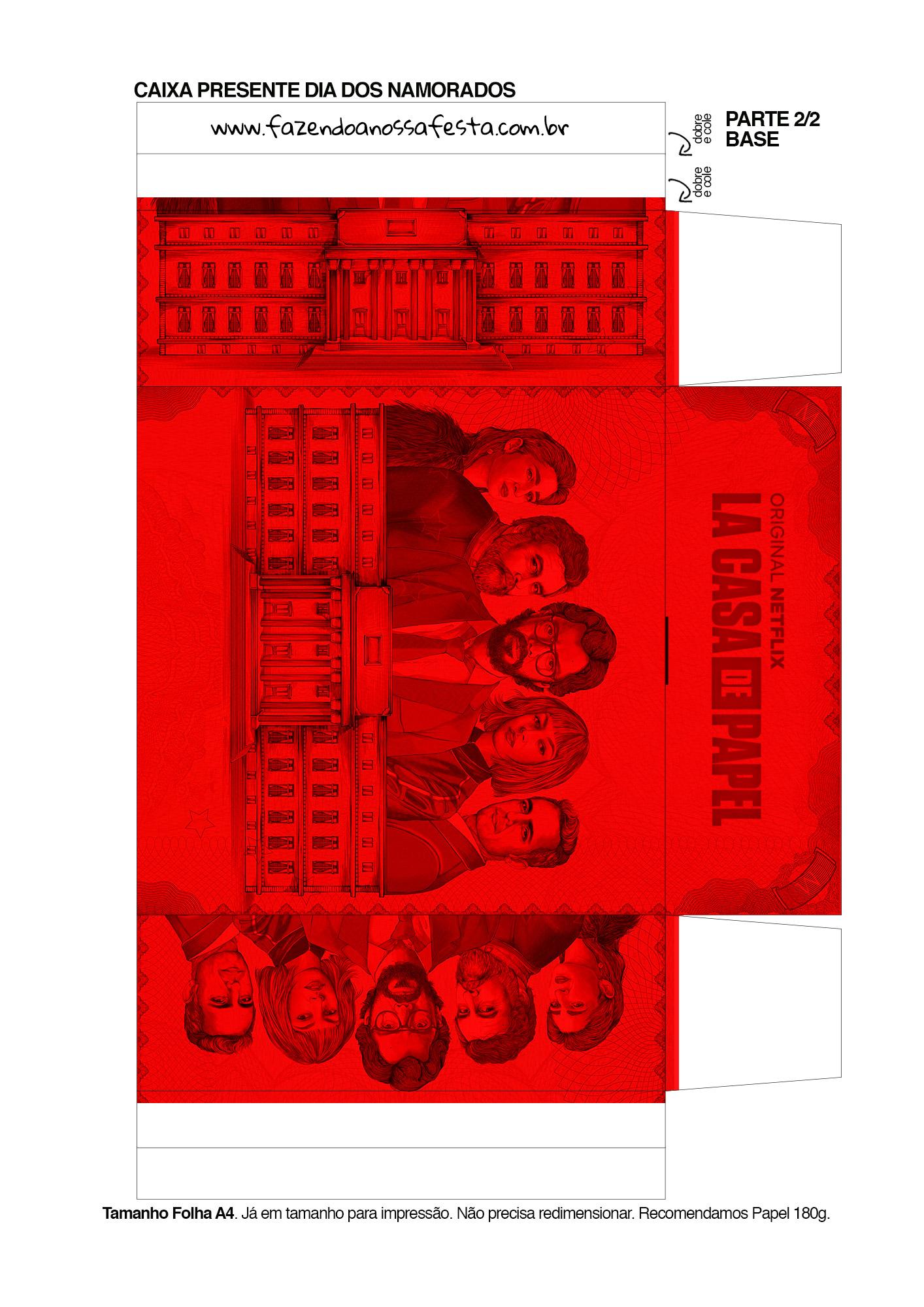 Caixa Festa La Casa de Papel la casa de papel 9