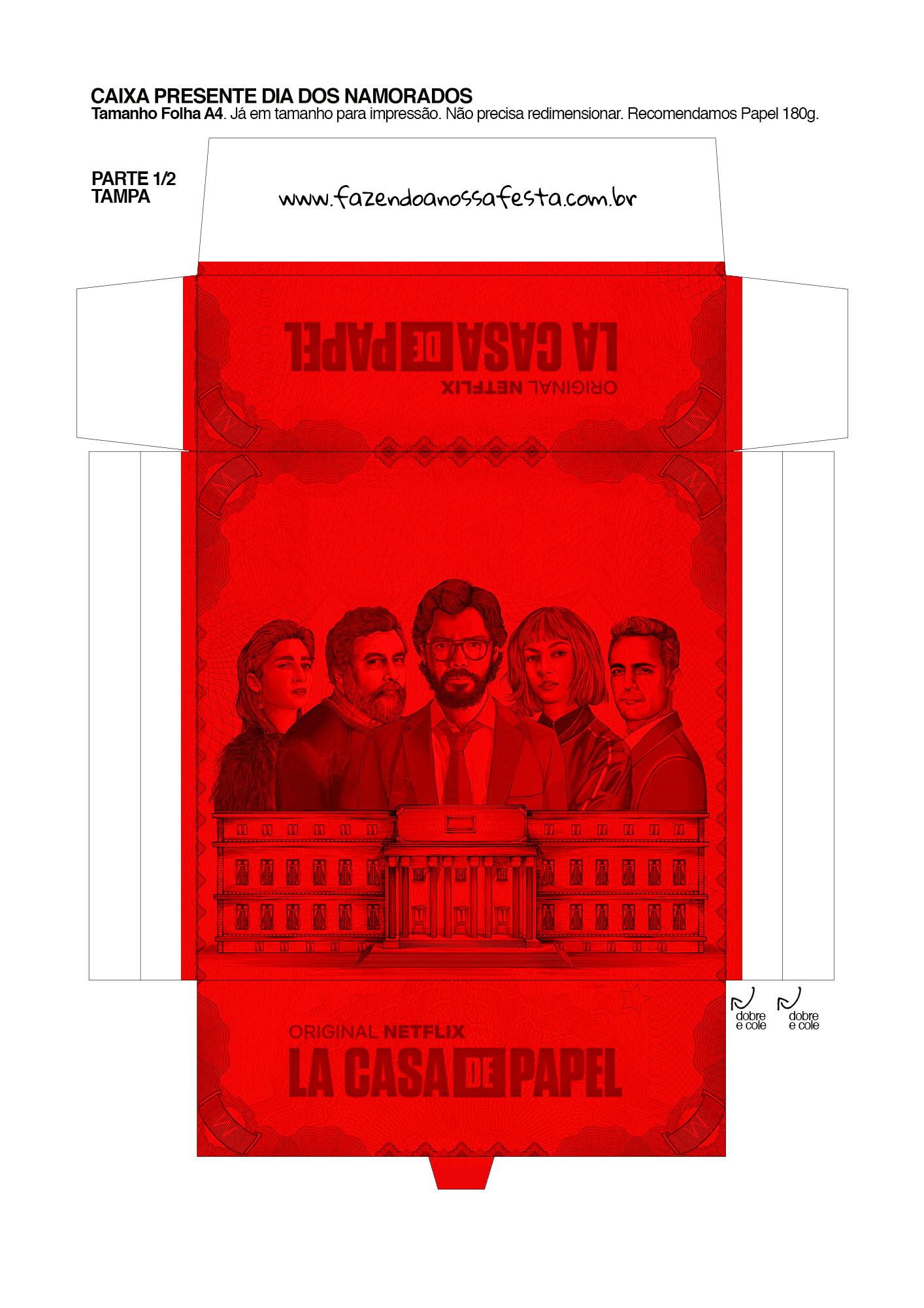 Caixa Festa La Casa de Papel la casa de papel 9_01