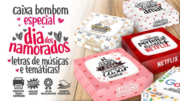 Caixa Musical Dia Dos Namorados Gratis Para Imprimir Em Casa