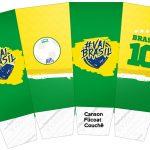 Caixa Pipoca Copa do Mundo