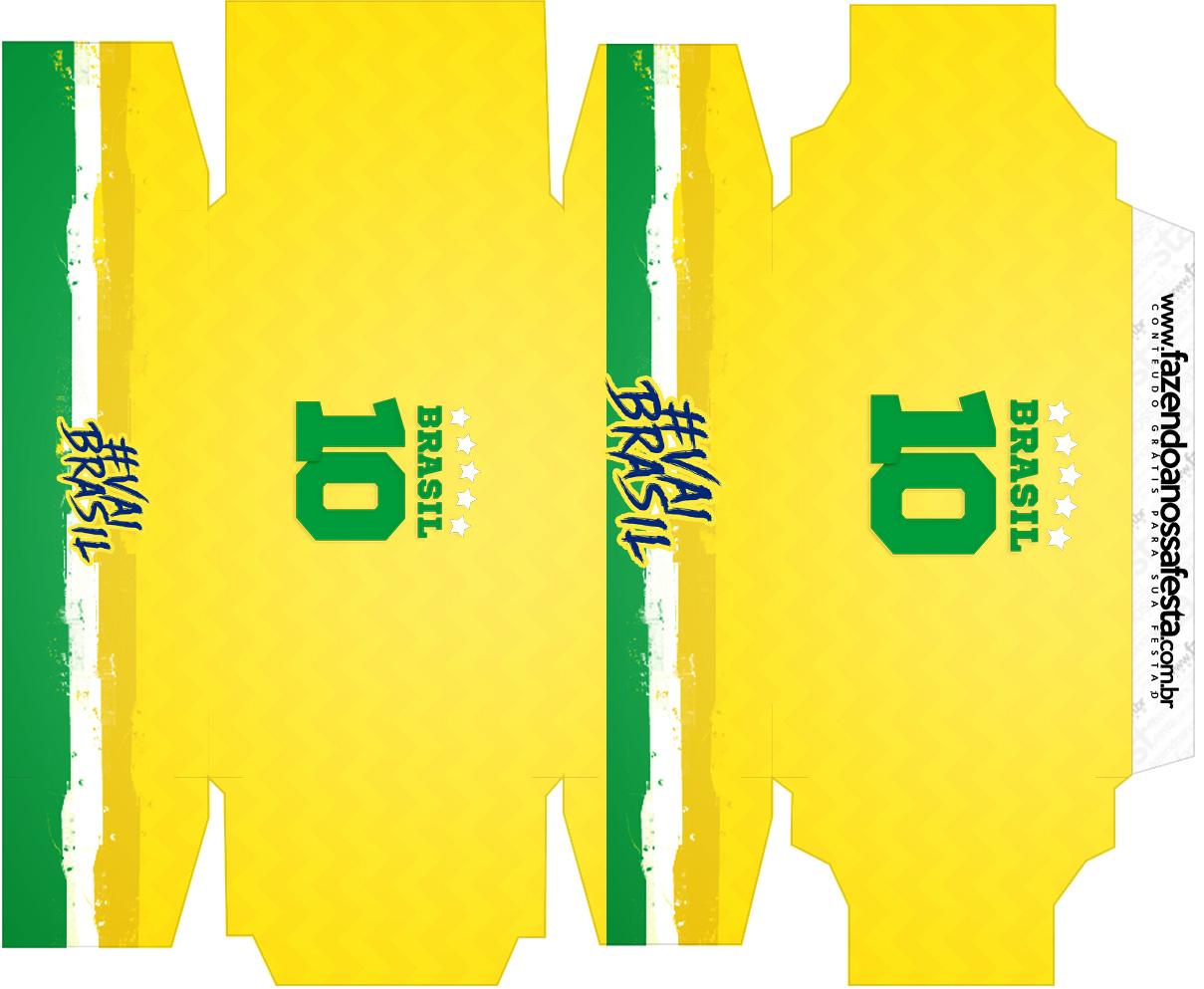 Caixa sabonete Copa do Mundo