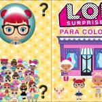 Capa Livrinho para Colorir Lol Surprise 1