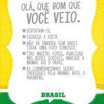 Cartao Agradecimento Quadro Copa do Mundo