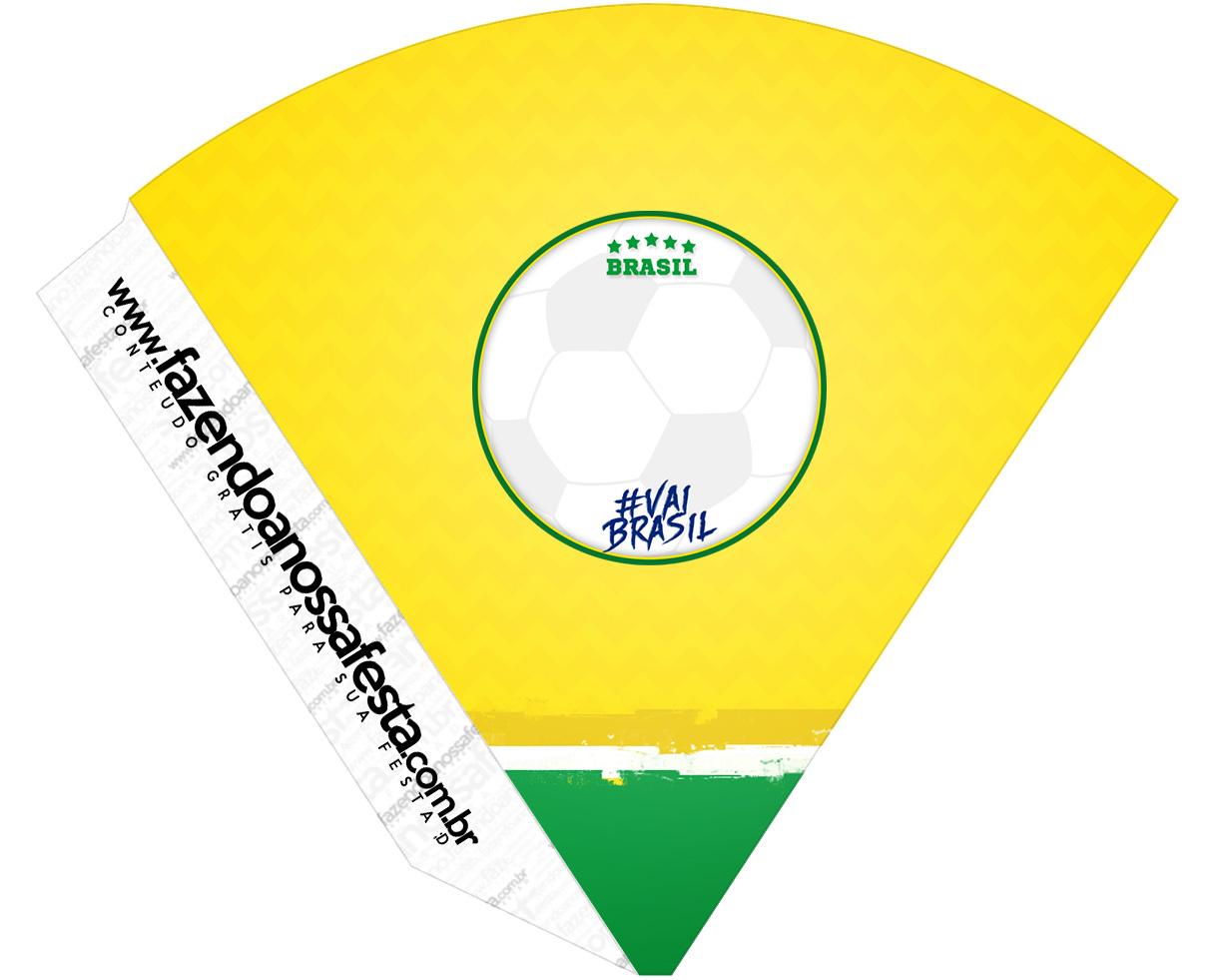 Cone Guloseimas Copa do Mundo