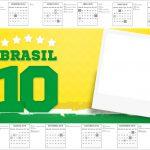 Convite Calendario 2017 Copa do Mundo