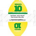 Convite Vestido 83 Copa do Mundo