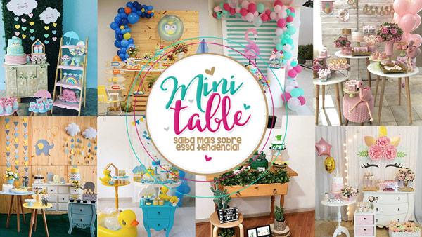 Decoracao Mini Table Conceito