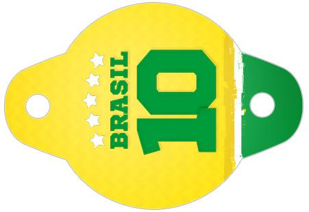 Enfeite Canudinho Copa do Mundo