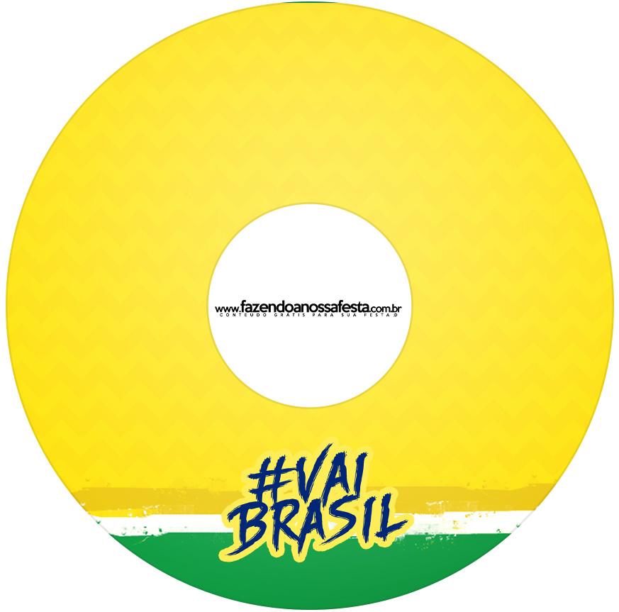 Etiqueta CD DVD Copa do Mundo Kit Festa