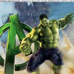 Faixa Lateral para Bolo Hulk 10