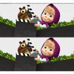 Faixa Lateral para Bolo Masha e o Urso 4