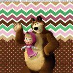 Faixa Lateral para Bolo Masha e o Urso 9