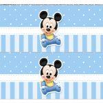 Faixa Lateral para bolo Mickey Baby 4