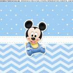 Faixa Lateral para bolo Mickey Baby 6