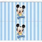 Faixa Lateral para bolo Mickey Baby 8