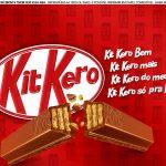 Faixa lateral para bolo Dia dos Namorados Kit Kat 4