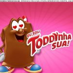 Faixa lateral para bolo Dia dos Namorados Toddynho 3