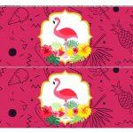 Faixa lateral de bolo Flamingo 2