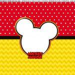 Faixa lateral para bolo Mickey