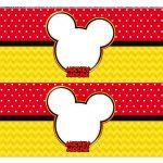 Faixa lateral para bolo Mickey 2