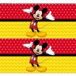 Faixa lateral para bolo Mickey 6