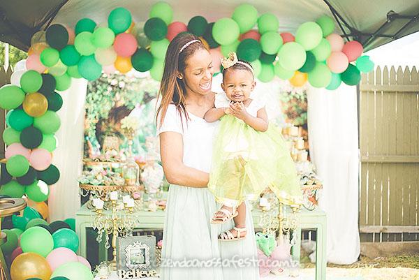 Festa Infantil Princesa e o Sapo da Amora 2
