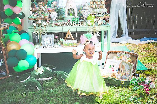 Festa Infantil Princesa e o Sapo da Amora 3