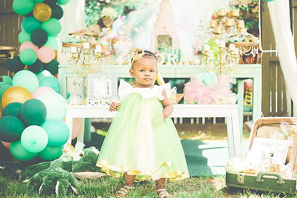 Festa Infantil Princesa e o Sapo da Amora 4