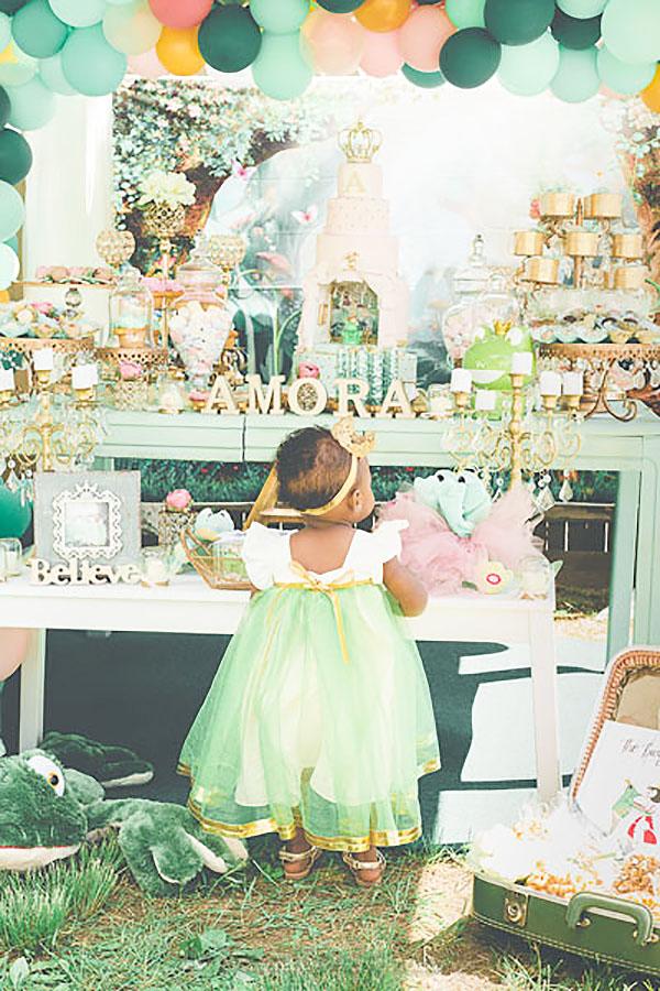 Festa Infantil Princesa e o Sapo da Amora 5