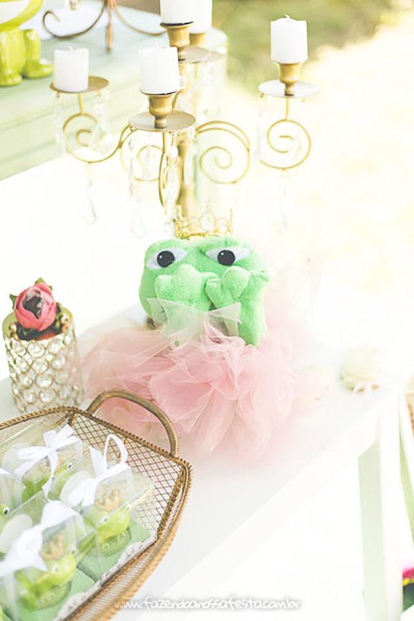 Festa Infantil Princesa e o Sapo da Amora 9