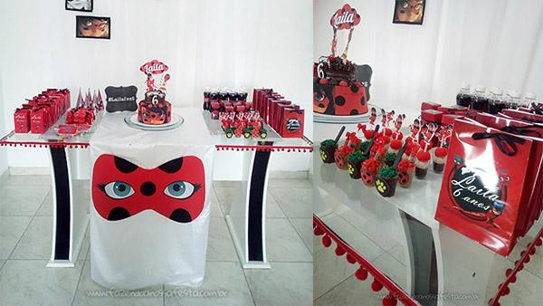 Festa Miraculous Ladybug da Laila Ideias