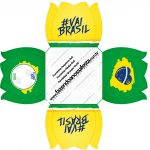 Forminhas Docinhos Copa do Mundo