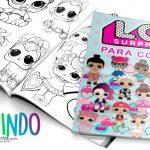 Livrinho para Colorir Lol Surprise Grátis para Imprimir em Casa
