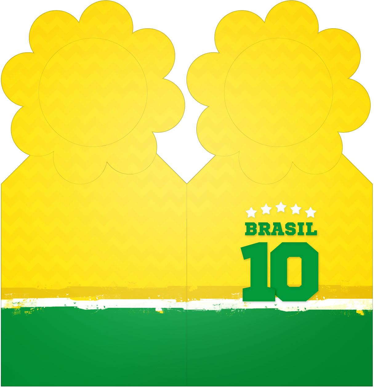 Marcador de Paginas Copa do Mundo Kit Festa