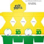 Meia Caixa Bala Copa do Mundo