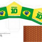Molde Casinha Copa do Mundo