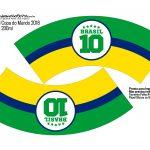 Molde Copo Plastico Copa do Mundo Moldes Especiais para Copa do Mundo