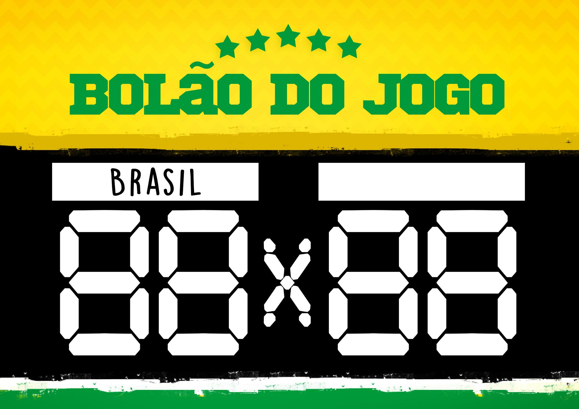 Placa Bolao Copa do Mundo 2