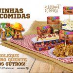 Plaquinha de Comida para Festa Junina Grátis Pronto para Imprimir