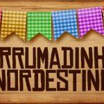 Plaquinha de Comida para Festa Junina Arrumadinho Nordestino