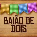 Plaquinhas de Comida para Festa Junina Baiao de Dois