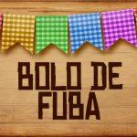 Plaquinhas de Comida para Festa Junina Bolo de Fuba